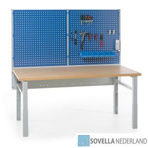 Sovella Nederland BV treston workshop werkbank met verlichting en gereedschapsbord 2M750- bezoek onze showroom