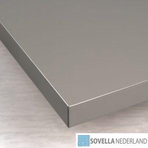 Sovella Nederland Treston werktafelblad staal voor werkbank - Bezoek onze showroom