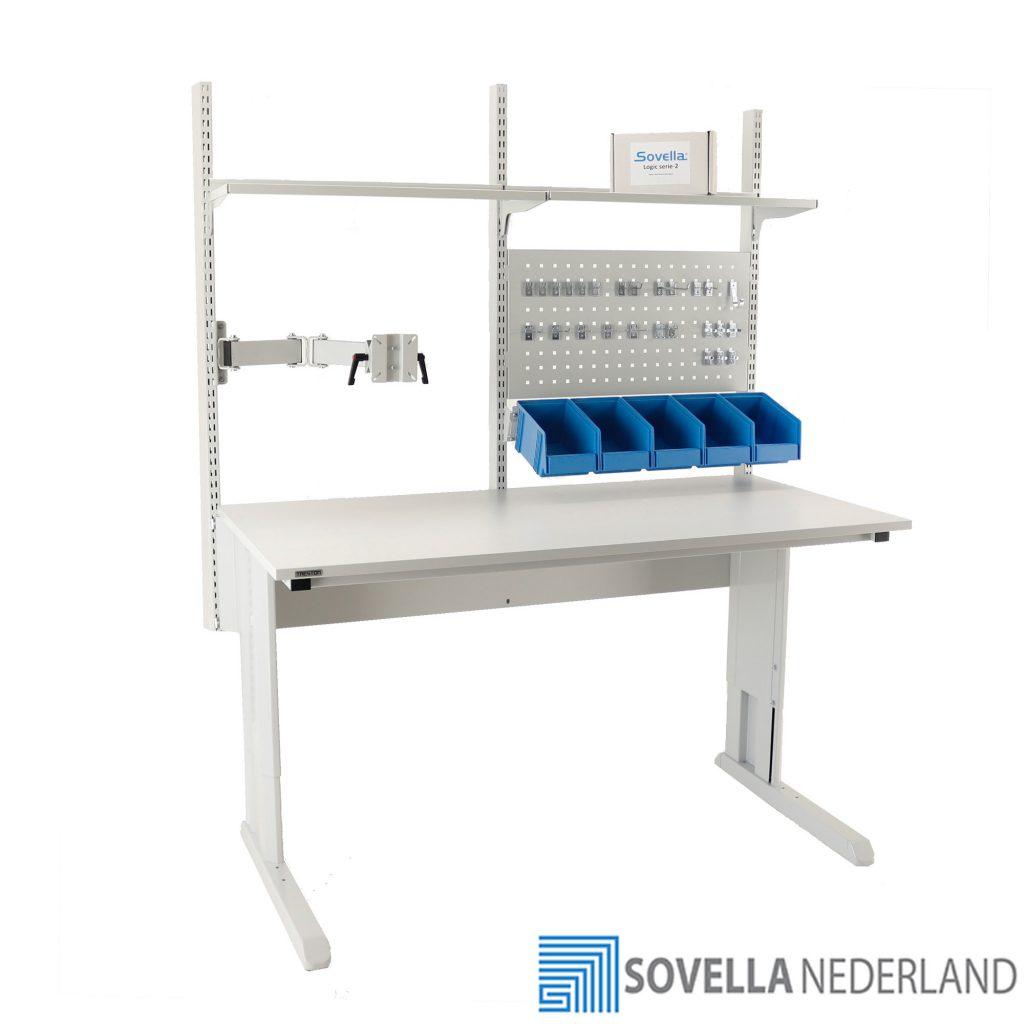 Sovella Nederland Treston concept werktafel voor de reparatie en assemblage van producten