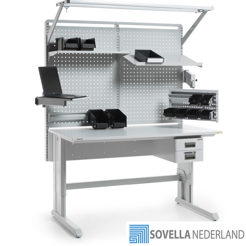 Sovella Nederland Treston Sovella ESD-veilige werktafel voor R&D research en development doeleinden