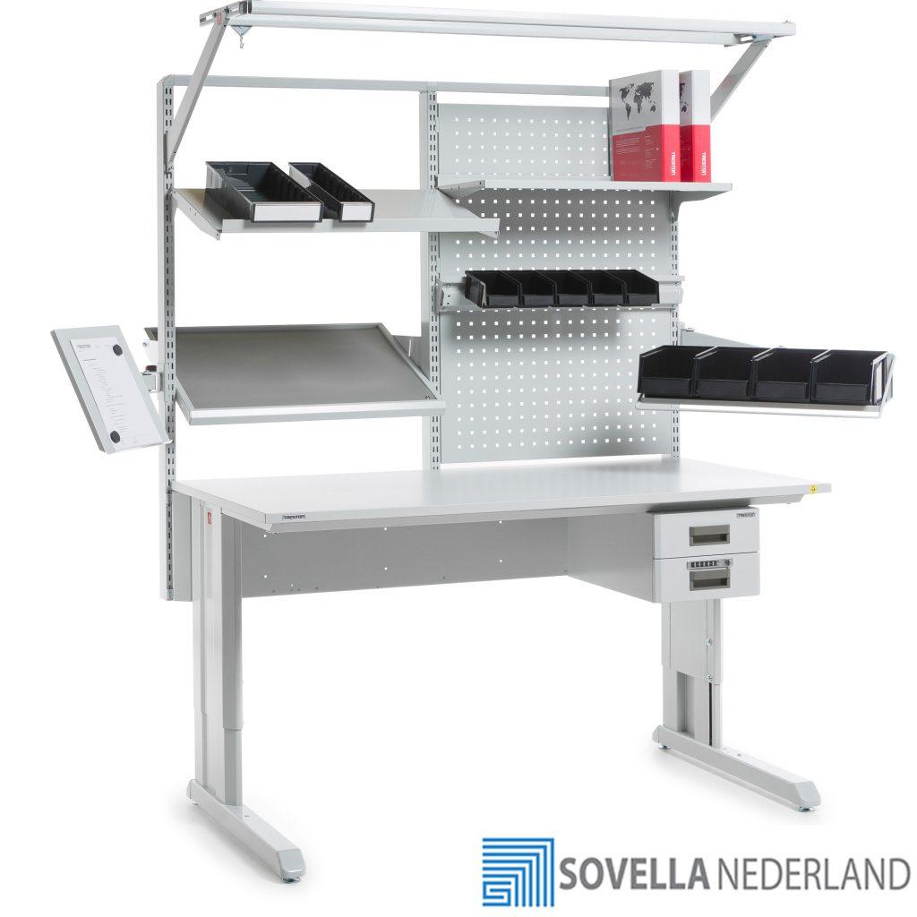Sovella Nederland Treston Sovella ESD-veilige werktafel voor R&D assemblage en reparatie - bezoek onze showroom