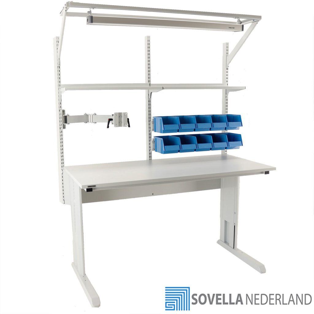 Sovella Nederland Treston concept werktafel ESD voor assemblage en reparatie - bezoek onze showroom