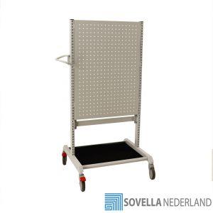 Sovella Nederland Treston Trolley met gereedschapsbord voor in de werkplaats of garage